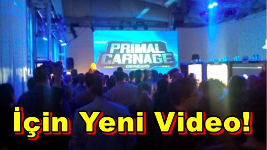 Primal Carnage: Genesis İçin Yeni Tanıtım Videosu!