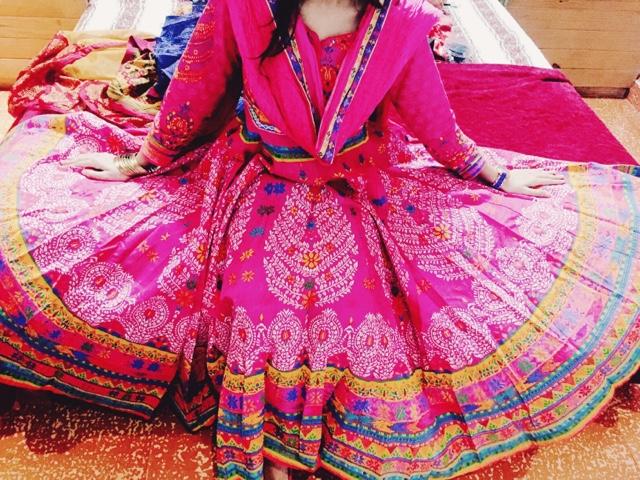 Biba Cotton Pink Kurta