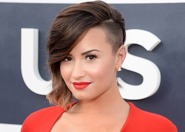 AMAZING COLORFUL UNDER CUT HAIR STYLES FOR WOMEN 12