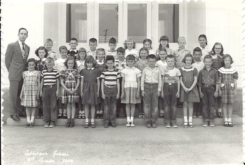 Jefferson 3rd grade 1952