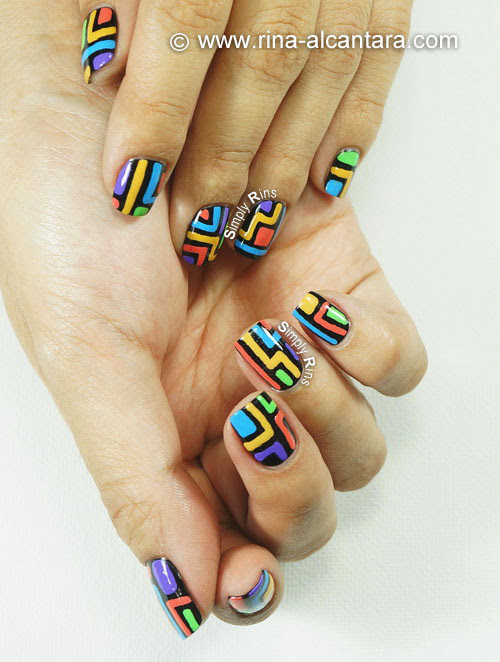 Crazy Nail Art Design - Artsy Shot