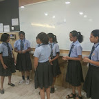 Enrichment Hour Activity on Patriotism at WIS Pawan Baug (Secondary Section 2017-18)