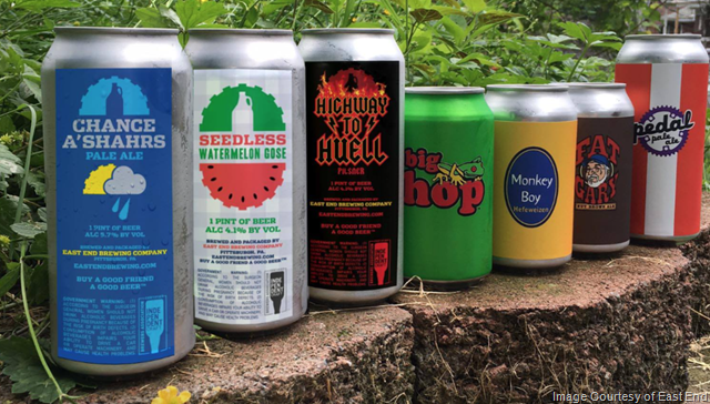 East End Releasing Seven Summer Beer Cans