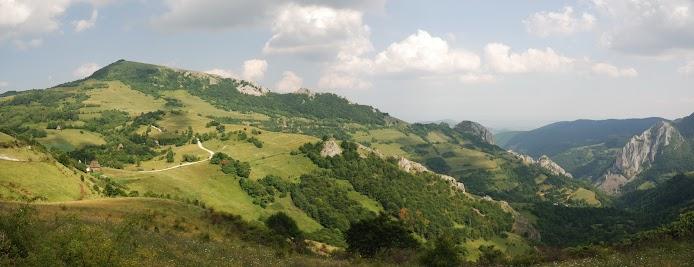 Blick in die Manastirii Schlucht