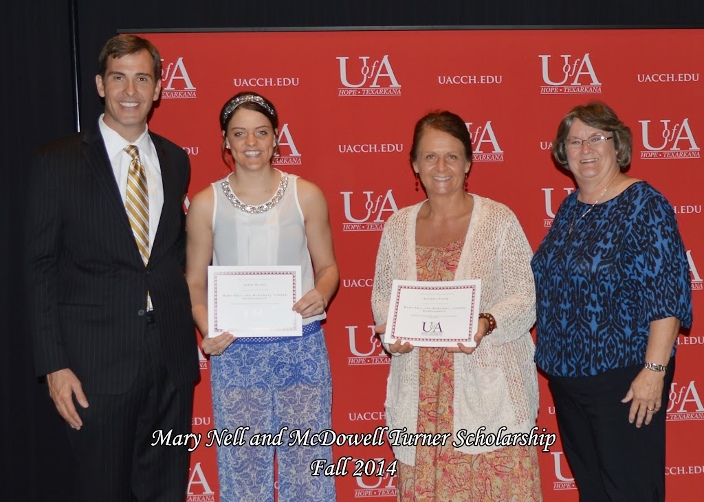 Scholarship Awards Ceremony Fall 2014 - Mary%2BNell%2BTurner%2BGroup.jpg