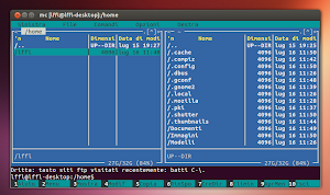 Midnight Commander 4.8.9 su Ubuntu Linux