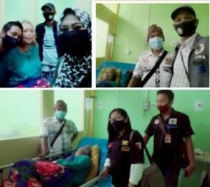 Jiwa Solidaritas Tim Divisi Kesehatan LPKDN DPD Kabupaten Sukabumi Ketika Jenguk Warga Di Rumah Sakit
