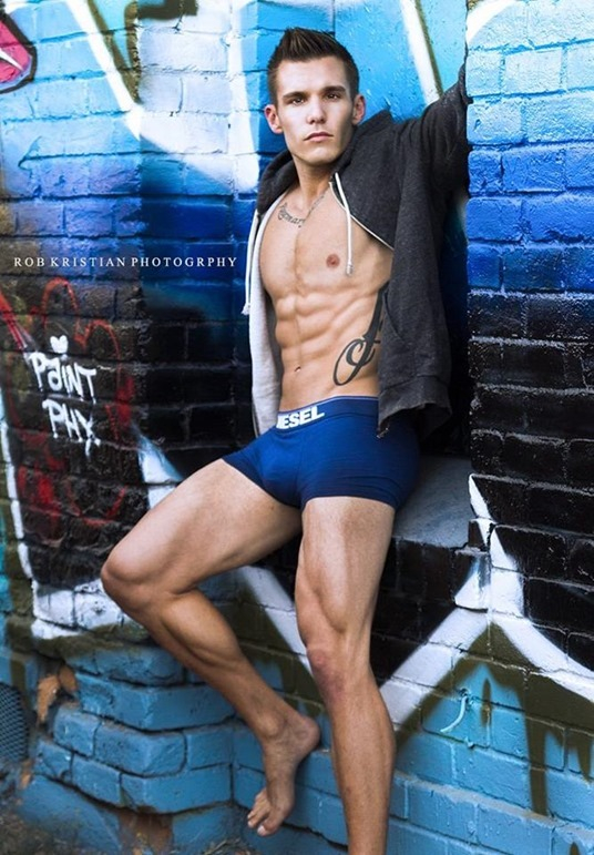 Sexy Guy by Rob Kristian Photography