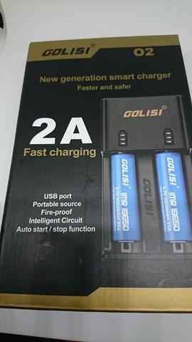 DSC 1625 thumb%25255B3%25255D - 【バッテリー/充電器】「GOLISI O2 インテリジェントチャージャー」レビュー。携行ポーチつき2A急速充電+スマホ充電対応!
