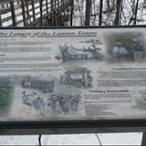 WB Trail marker - Bessie & Louie
