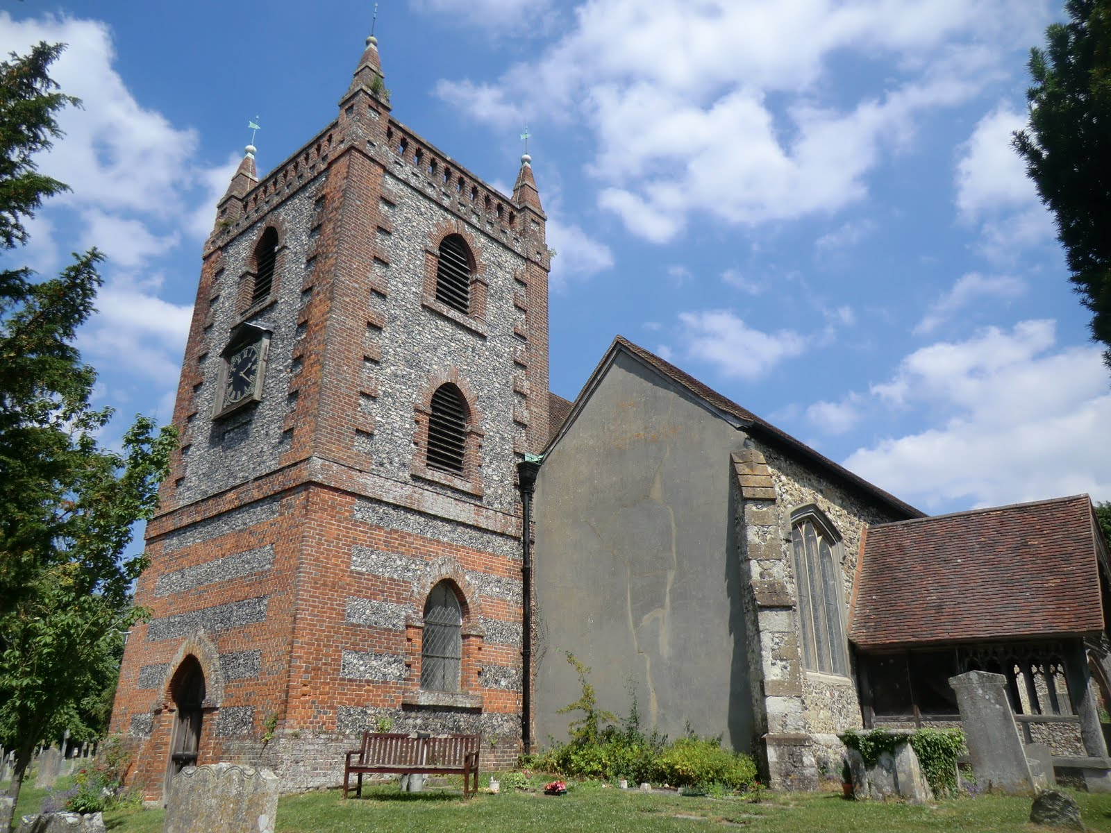 CIMG7488 Church of Ss Peter and Paul, Shoreham