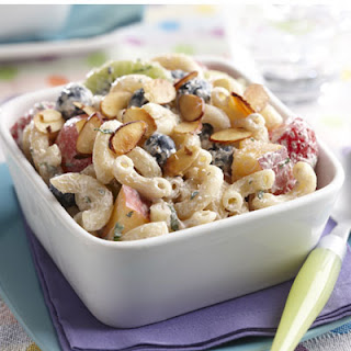 Fruit and Yogurt Elbow Salad.