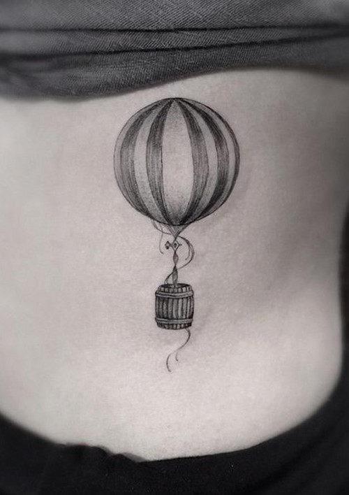 este_minimalista_de_balo_de_ar_quente_tatuagem