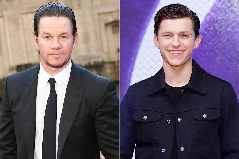Tom Holland y Mark Wahlberg se encuentran filmando en Barcelona el film Uncharted