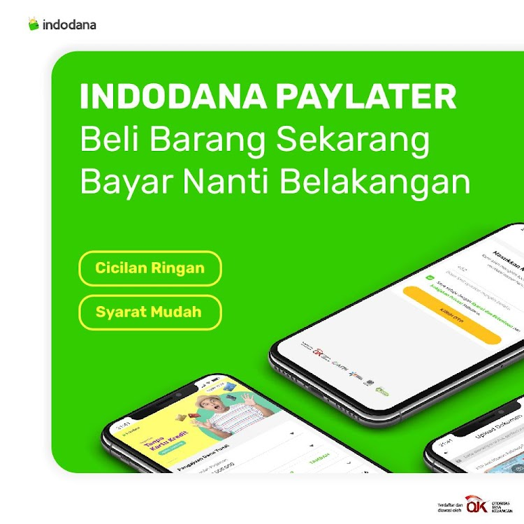 Indodana Pinjaman Online Cepat Kredit Handphone Android