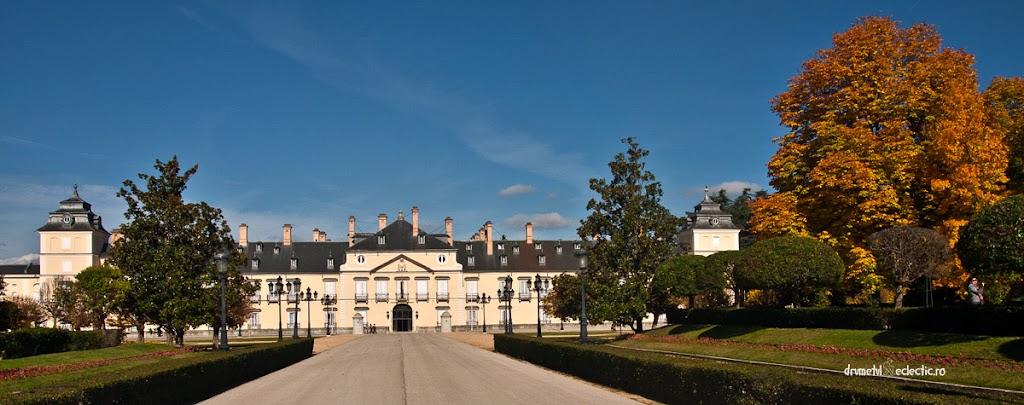 El Pardo Madrid Espana Spain Spania palat palacio real architecture baroque park