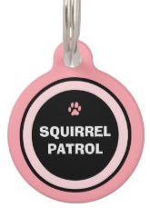 Pink Custom Dog ID Tag
