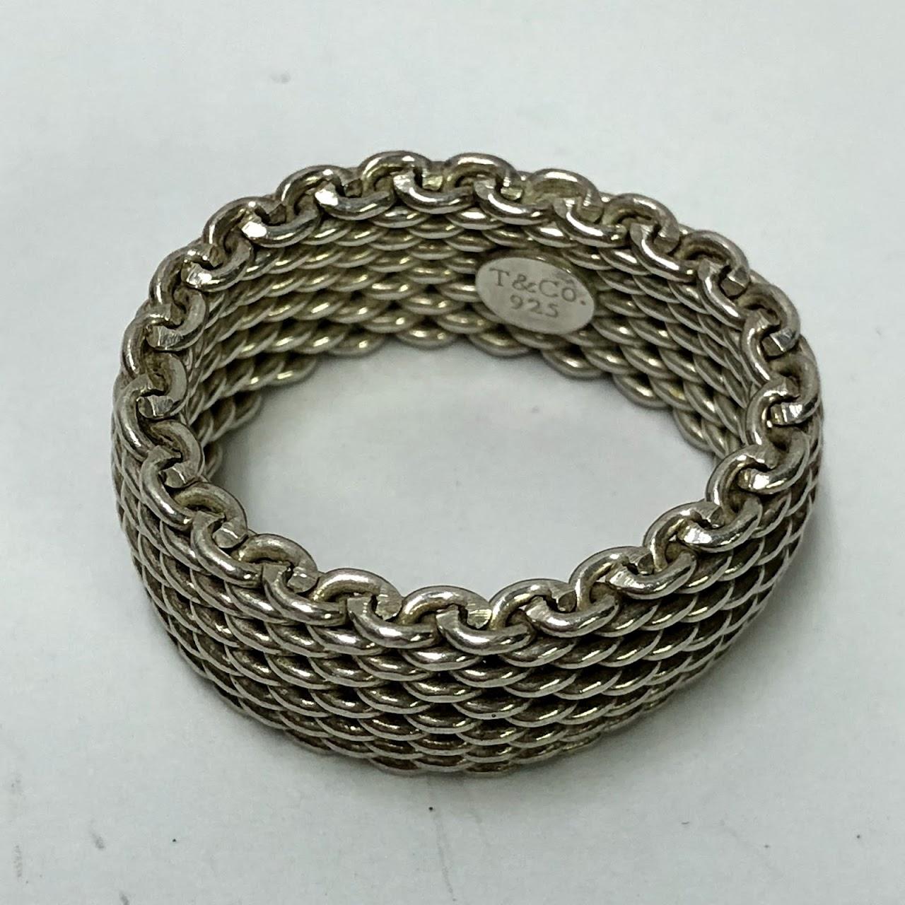 b93b7dd728625 Tiffany & Co. Sterling Silver Somerset Ring #2   Shophousingworks