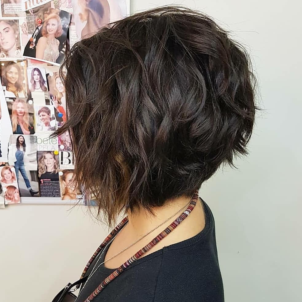 How to Style short haircuts for curly hair 2018-2019 3