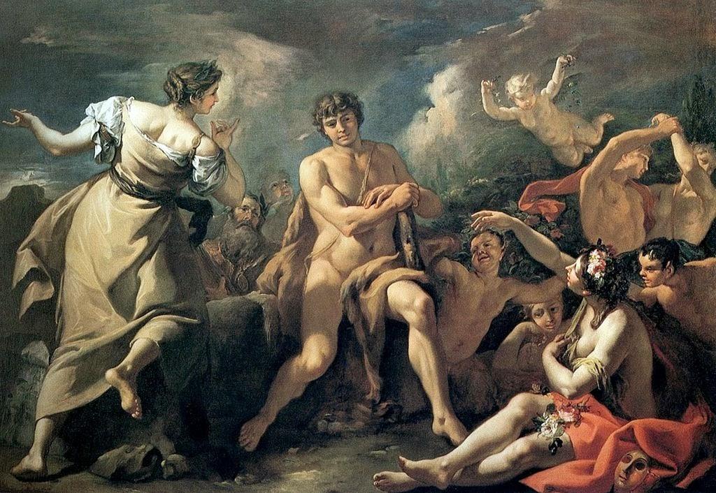 Sebastiano Ricci - Hercules at the crossroads