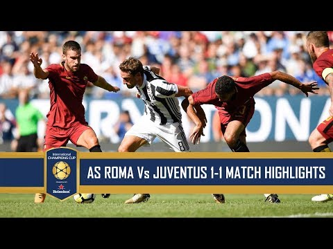 [Video] AS Roma vs Juventus 1-1 (4-5) – Highlights & All Goals – International Champions Cup (30/07/2017)