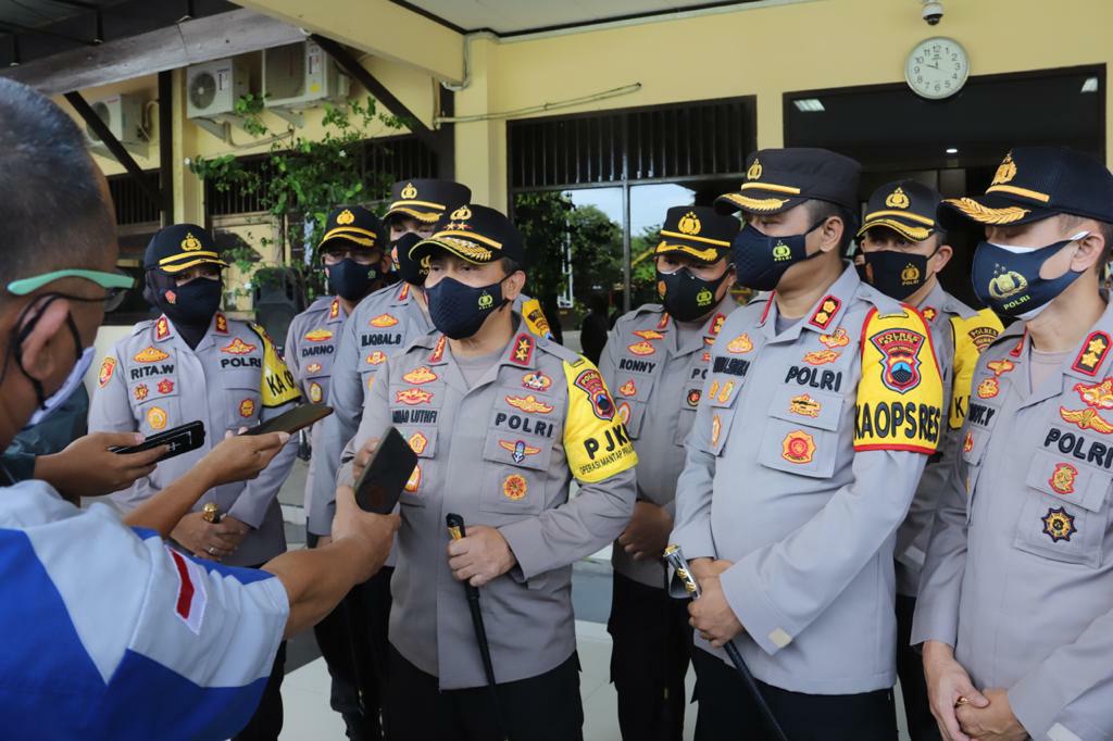 Jelang Nataru 2020/2021 Polda Jateng Gelar Operasi Lilin Candi, Akan Bubarkan Kerumunan Acara Tahun Baru-an.