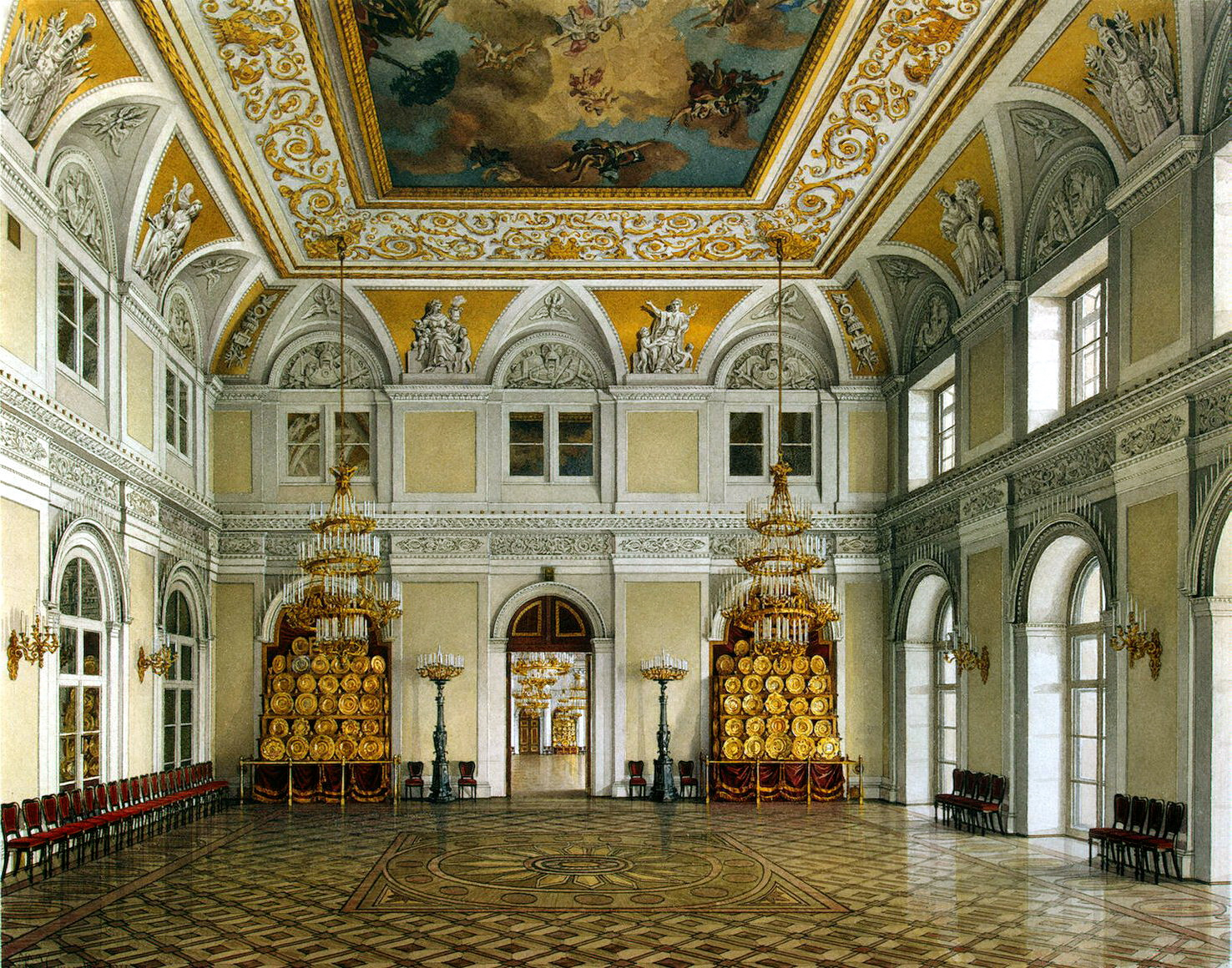 outstanding crochet halls of winter palace in saint. Black Bedroom Furniture Sets. Home Design Ideas