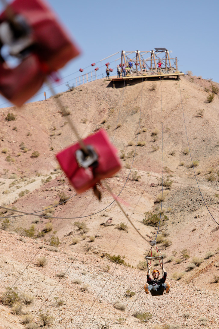 Bootleg Canyon Zipline Boulder City.