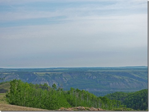 Overlooking Peace River