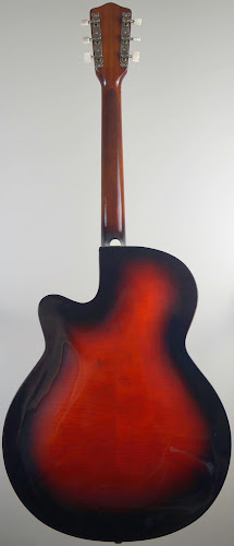 red framus riviera archback acoustic at Ukulele Corner