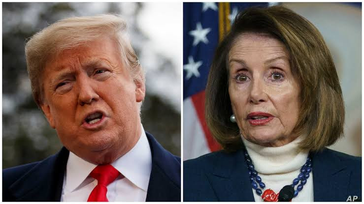 'Impeached twice and defeated twice' - House speaker, Nancy Pelosi mocks Trump's plan to run for president in 2024