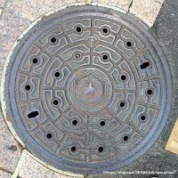 札幌市型マンホール蓋(第一期下水道事業当時の仕様か)