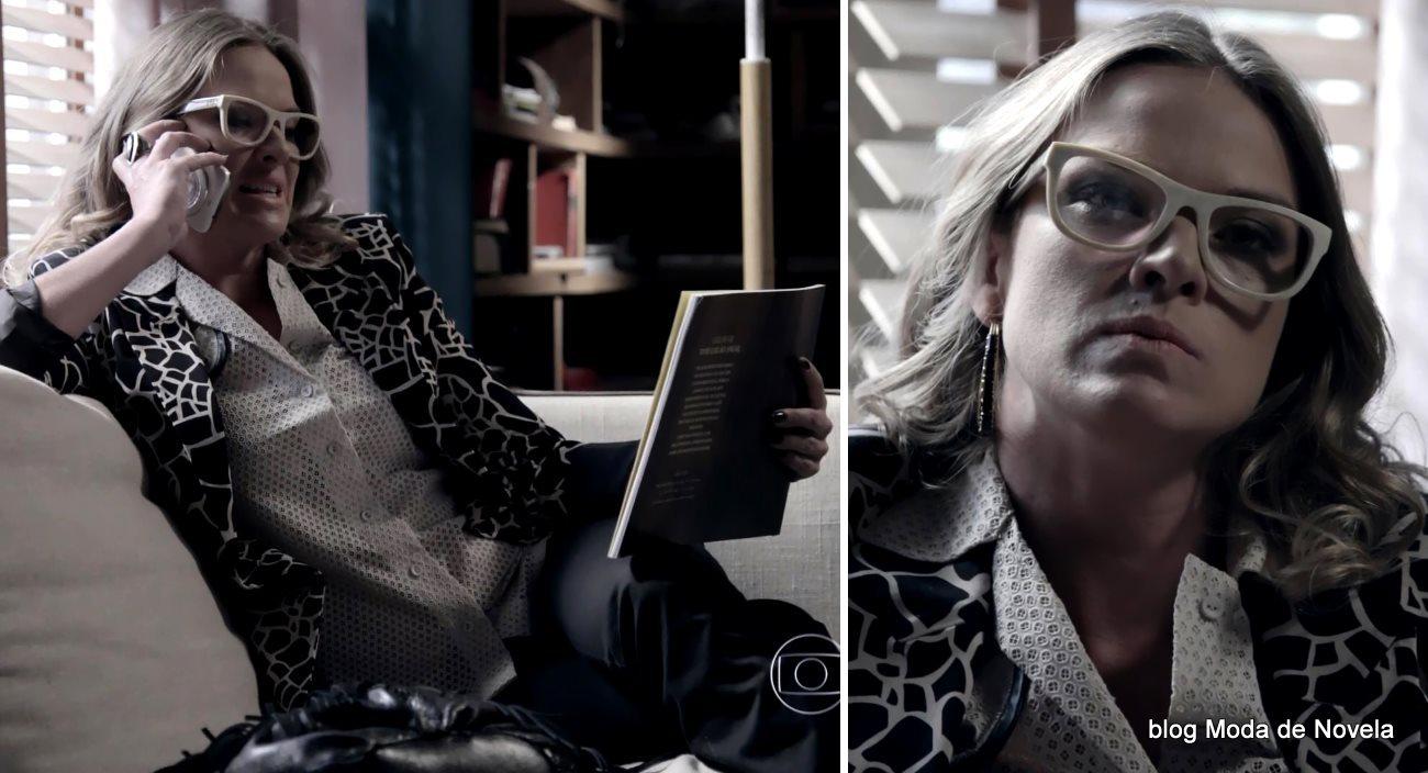 moda da novela Império, look da Érika dia 10 de janeiro de 2015