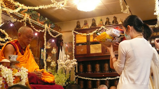 Long life puja in Hong Kong 2008.