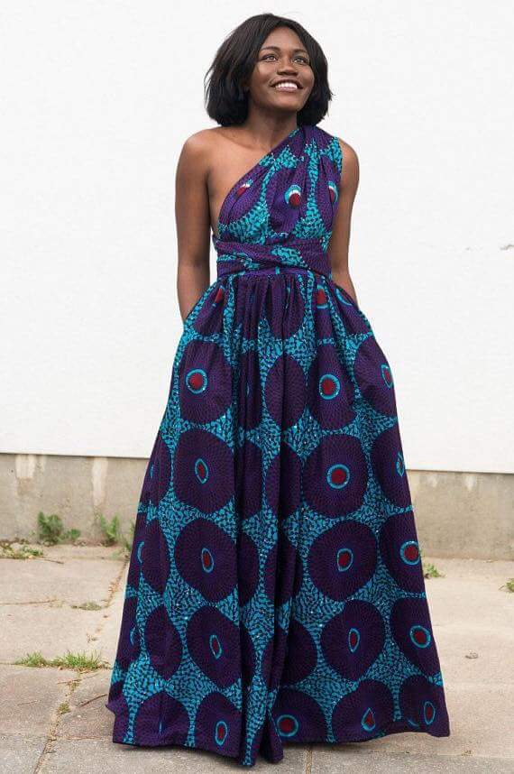 Latest  African Short Maxi Dresses For Woman 5