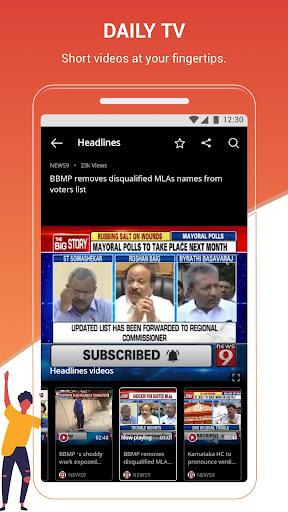 Dailyhunt (Newshunt)-  News,Videos,Cricket