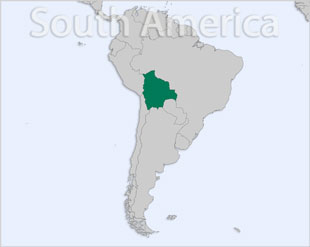 Bolivia location map