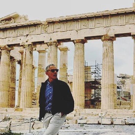 obama ruins of acropolis