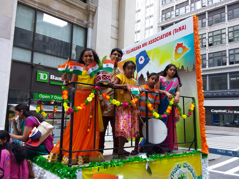 Telangana State Float at India Day Parade NY 2015 - 20150816_134743.jpg