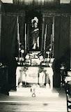San Rocco - altare e statua