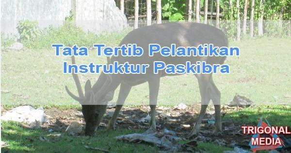 Tata Tertib Pelantikan Instruktur Paskibra