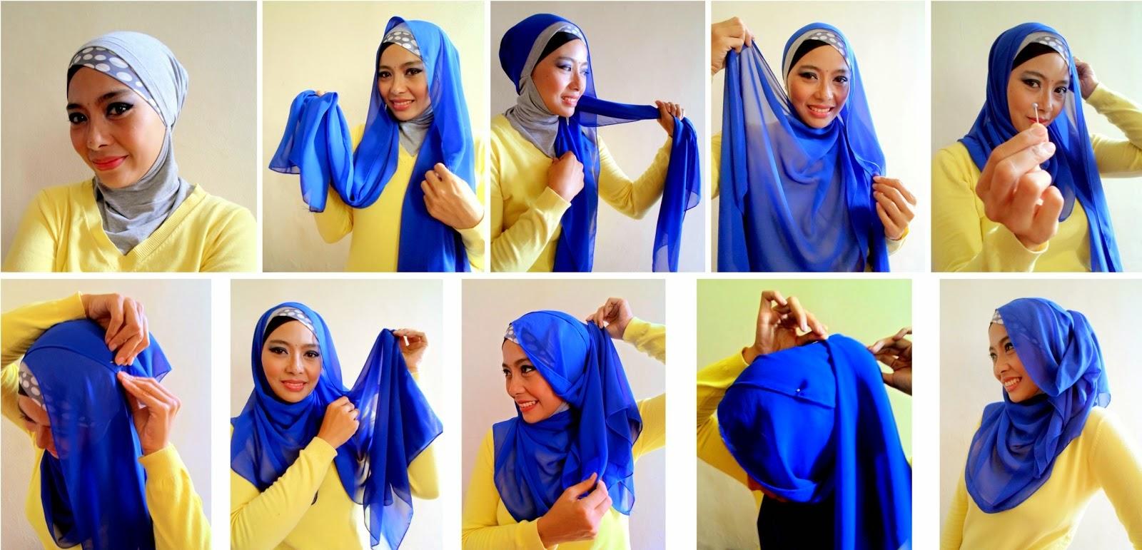Jilbab Untuk Ke Pesta | Contoh Jilbab