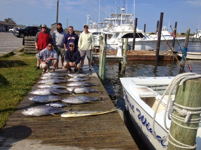 outer banks fishing charter tuna tuna and dolphin