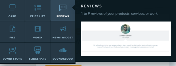 Customer Reviews Tool