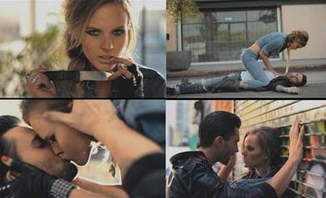 Maroon 5: Misery - video con Adam Levine y Anne Vyalitsyna