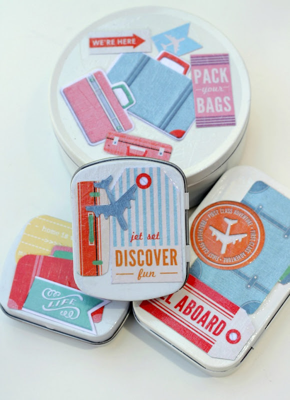 Upcycled Travel Tins