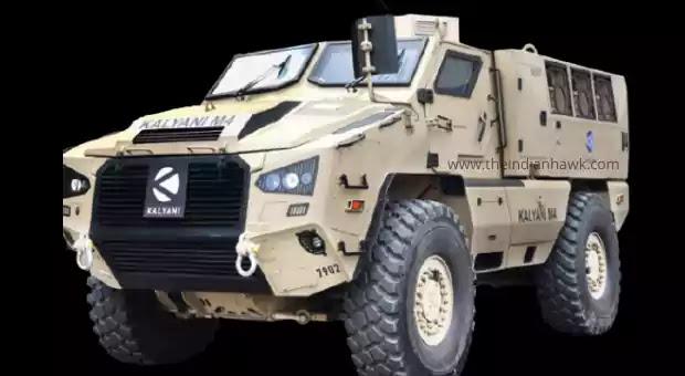 Kalyani M4 Armored Vehicle