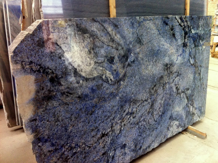 arbeitsplatte granit k chenarbeitsplatte esstischplatte naturstein bahia blue ebay. Black Bedroom Furniture Sets. Home Design Ideas