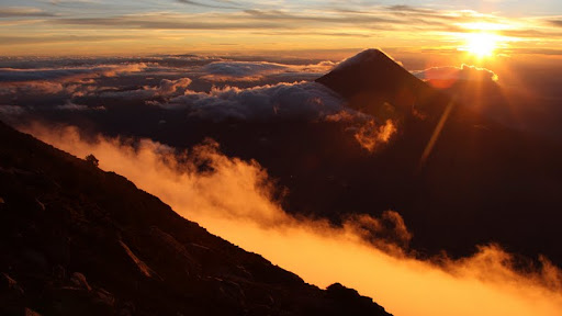 Sunrise Over Acatenango Volcano, Guatemala.jpg