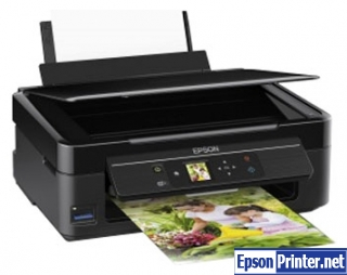 How to reset Epson XP-313 printer